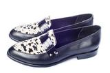 Zapatos de mujer a la moda para un estilo de vida de lujo aislados sobre fondo blanco