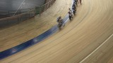cyclists to ride fast in a curve sequence