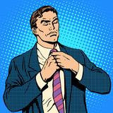 The proud man businessman