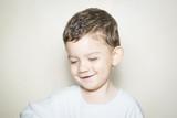 Retrato de niño sonriendo