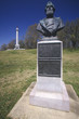 Постер, плакат: Bust of Civil War US Brigadier General Marcellus M Crocker at Vicksburg National Military Park Mississippi