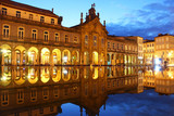 Republic square, Braga, Portugal