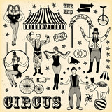 Pattern of the circus. - 94965791