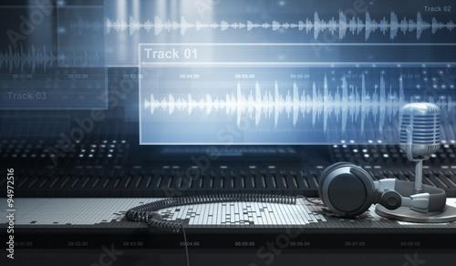 Sound Studio and Tracks