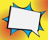 Fototapety speech bubble pop art,comic book background