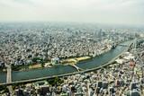 Panorama Tokyo ze Skytree.
