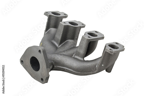 car, Intake Manifold isolated on white Poster