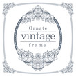 Detaily fotografie Vintage frames for text input.