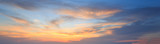 Fototapety Natural background panorama of the gold color sky , During the t