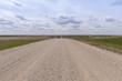 gravel path in Canadian Prairies