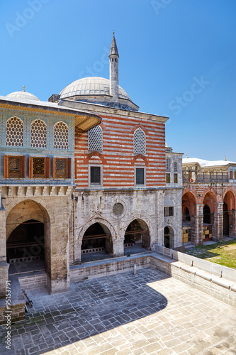 Foto op Plexiglas Cyprus The Courtyard of the Faviorites in the Harem, Topkapi Palace, Is