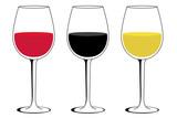 Icono plano copa de vino #1