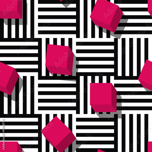 Tapeta Vector seamless geometric pattern.