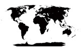 Very detailed map of the world
