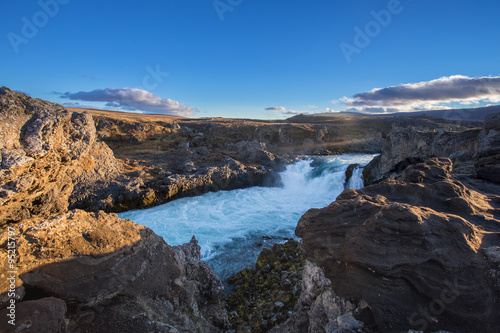 Foto op Canvas Godafoss waterfall, Iceland
