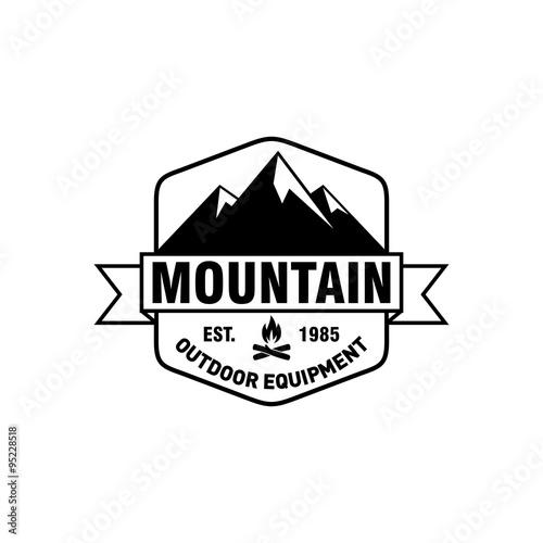 Mountain Hipster Logo Template Buy Photos Ap Images Detailview