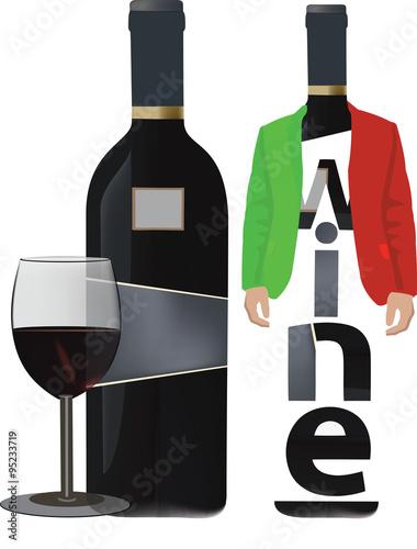 butelkowane-czarne-wino