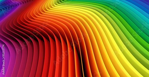Obraz na Plexi Abstract spectrum background