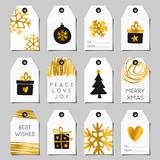 Christmas Gift Tags Set - 95247374