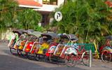 Fototapety Bicycle rikshaw