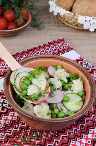 Valokuva vegetable salad