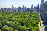 Fototapety Manhattan skyline and Central Park