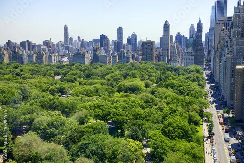Zdjęcia na płótnie, fototapety, obrazy : Manhattan skyline and Central Park