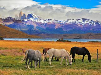 Imponujący krajobraz w Chile