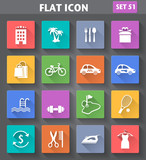 Fototapety Vector application Hotel Services and Facilities Icons. Set 3 in