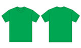 Green Shirt Design Template For Men
