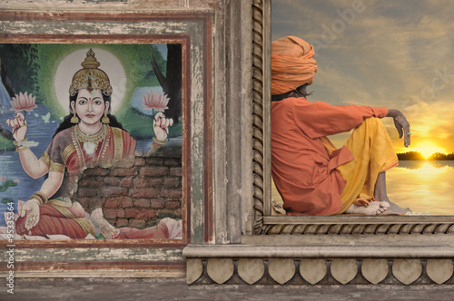 Poster Indian art.