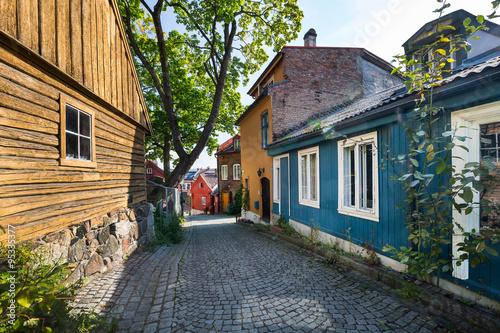 Poster Künstlerviertel Damstredet in Oslo