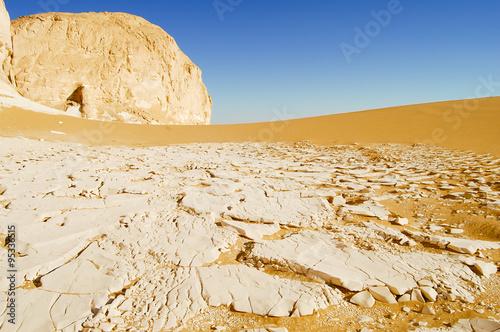 Poster Tunesië White Desert - Egypt