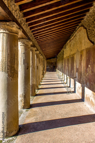 Colonnade from Pompeii