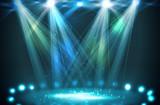Stage spotlights.