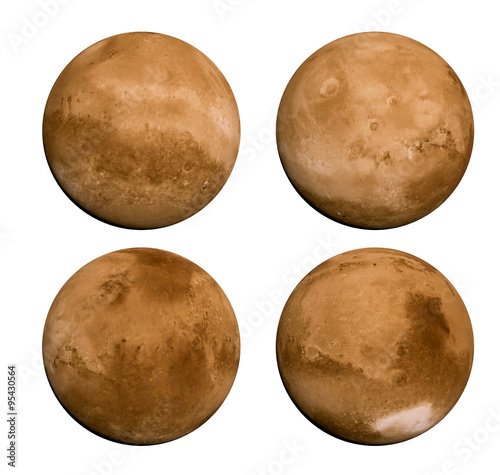 Planet Mars 360 view