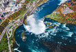Niagara Falls aerial view Canada