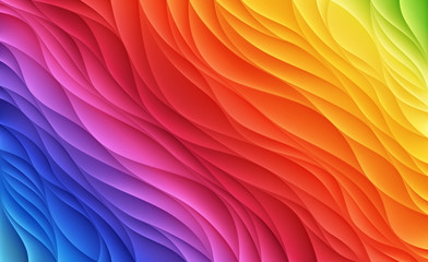 Color waves. Abstract background.