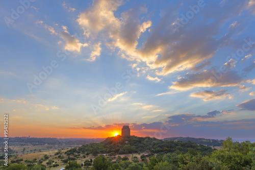 Sunset in Pretoria Plakat