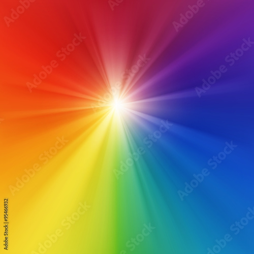 Color explosion abstract background