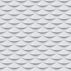 White seamless tile textured panel