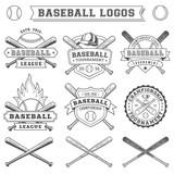 Fototapety Vector Baseball logo and insignia