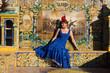 Obrazy na płótnie, fototapety, zdjęcia, fotoobrazy drukowane : Girl from Madrid