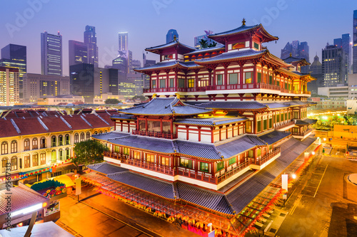 BuddhaTooth Relic Temple of Singapore Poster