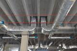 Impianto di condizionamento e ventilazione in edificio industriale - 95617926
