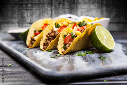 "Delicious beef tacos"" Stock photo and royalty-free images on Fotolia ..."