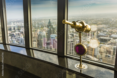 Poster Aerial view from Sydney Tower in Sydney Australia