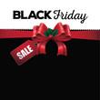Black Friday sale background EPS 10 vector