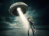 UFO space shuttle