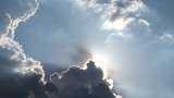 Sun behide the cloud 01